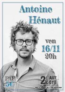 Antoine Hénaut - 16/11/2018