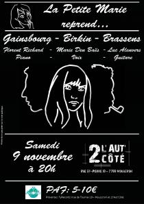 Concert_LaPetiteMarie_2019-11-09_Affiche