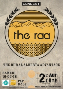 The Rural Alberta Advantage - 10/03/2018